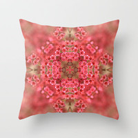 Sonnet Throw Pillow by Lisa Argyropoulos