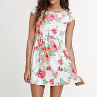 Kirra Short Sleeve Skater Dress at PacSun.com