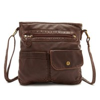 Patch Pocket Cross Body Bag: Charlotte Russe