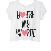 You're My Favorite Tee