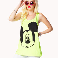 Mickey Mouse Neon Tank