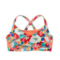 Aerie FIT Printed Cross-Back Bra | Aerie for American Eagle