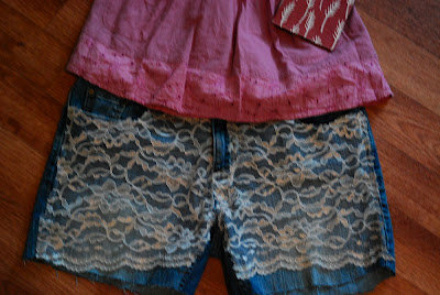 Silver Moon Creations: Tutorial: Lace Shorts