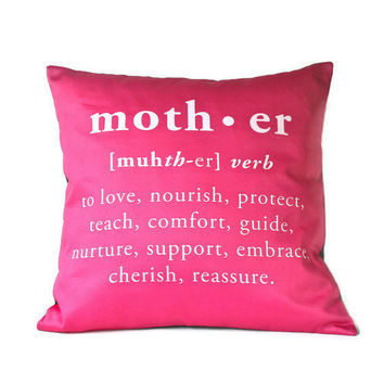 MOTHER pillow