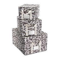 The Container Store &gt; Baroque Fabric Storage Boxes