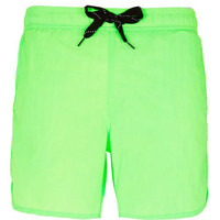 Green Floresent Swim Shorts - View All  - New In