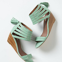 Nubuck Gladiator Wedges