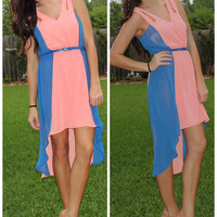 Ashley High Low Dress