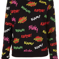 Comic Pop Art Sweat - Sale - Sale & Offers - Topshop