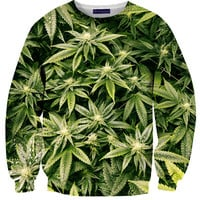 Kush Leaves Sweater