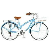 Hollandia Land Cruiser L Bicycle (Baby Blue, 26-Inch)