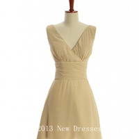 Cheap 2013 Glamorous sleeveless A-line Prom Bridesmaid Evening Dresses Party Dresses