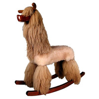 Life Size Rocking Horse Llama