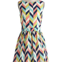 Arrow Your Boat Dress | Mod Retro Vintage Dresses | ModCloth.com