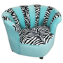 Newco Kids Sweetheart Chair Tween Zebra, Tiffany: Baby