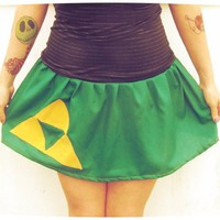 Custom tutu Skirt inspired by The Legend of Zelda Link Triforce cosplay from PoppysWickedGarden