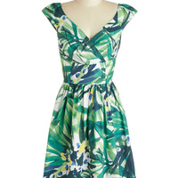Palm Springs into Action Dress | Mod Retro Vintage Dresses | ModCloth.com