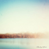 winter, lake, nature, sunlight, fine art photography