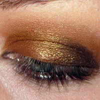 Rightful Property- Bronzed Orange-Gold w Copper Shimmer | pumpkinandpoppy - Bath & Beauty on ArtFire