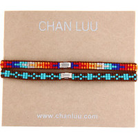 Chan Luu 2 PK Beaded Friendship Bracelet