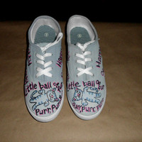 ANY SIZE Soft Kitty Warm Kitty Big Bang Theory Custom Painted Shoes Men Women Kids