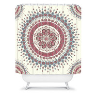 DENY Designs Home Accessories | Belle13 Paisley Mandala Love Shower Curtain
