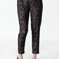 rue de rivoli lace pants by Aryn K at ShopRuche.com
