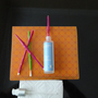 Swab Stics are colorful long handle stics that insert into the neck of your makeup or moisturizer bottles swabbing out all your product.