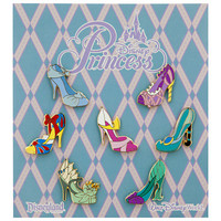 Disney Princess Slippers Pin Set | Disney Store
