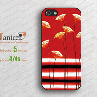 red picture iphone 4 case apple  iphone 5 case iphone 4 cover with unique Iphone case
