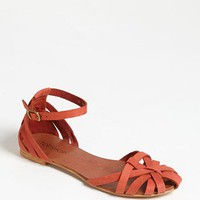 Topshop &#x27;Happy&#x27; Cage Toe Sandal | Nordstrom