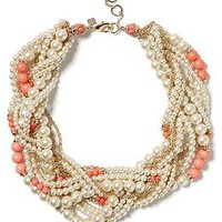 Pearl Twist Necklace | Banana Republic