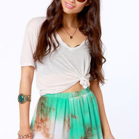 Gypsy Junkies Suzy Tie-Dye Shorts
