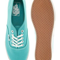Vans Authentic Lo Pro Mint Trainers