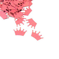 Princess Party Confetti - Pink Princess Crowns