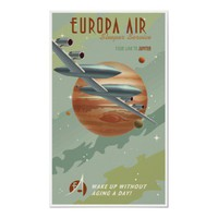Travel to Jupiter Print