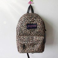 romefashion  cool fashion Mint retro Leopard VS Backpack/bag