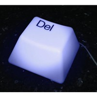 Giant Delete Key Accent Light - #P6354 | LampsPlus.com