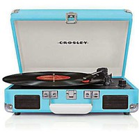 Crosley Radio Cruiser Vinyl Record Player, Turquoise