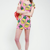 Urban Outfitters - Lazy Oaf Pineapple Tee Dress