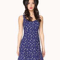 Empire Waist Polka Dot Dress | FOREVER21 - 2024003289