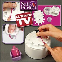 "NEW HOT ITEM Nail perfect nail art polishing tool ""Perfect solution for salon perfect beautiful nails every time: Beauty"