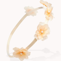 Pearlescent Rosette Headband | FOREVER21 - 1000044957