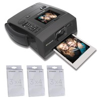 Polaroid Z340 Instant Digital Camera with ZINK Zero Ink Printing Technology