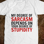 Sarcasm Degree