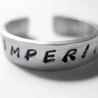 Harry Potter Imperio Stamped Stainless Steel Ring
