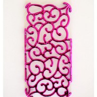 Metallic Pink Vine iPhone5 Cover