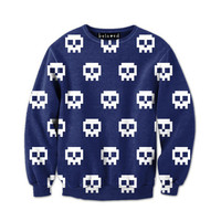 Pixel Skulls Sweatshirt