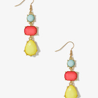 Multicolored Dangling Earrings