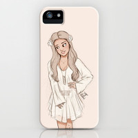 White iPhone & iPod Case by Laia™